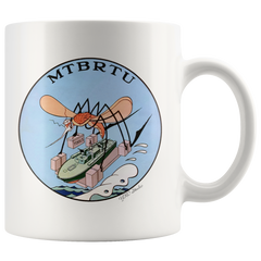 otor Torpedo Boat Repair Training Unit MTBRTU 11oz Mug