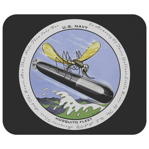 USN Mosquito Fleet Commemorative MousePad