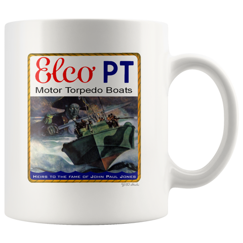 ELCO PT Heirs To The Fame Of John Paul Jones Mug