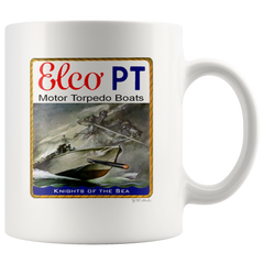 ELCO PT Boat Knights Of The Sea Mug