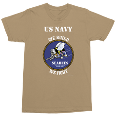 US NAVY SEABEES Military T-Shirt