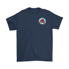 PT Boat Squadron RON 15 Cotton 2-Sided T-Shirt w/Motto