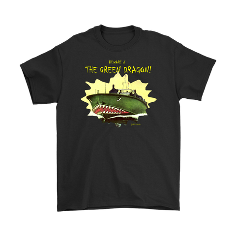 BEWARE THE GREEN DRAGON PT Boat T-Shirt