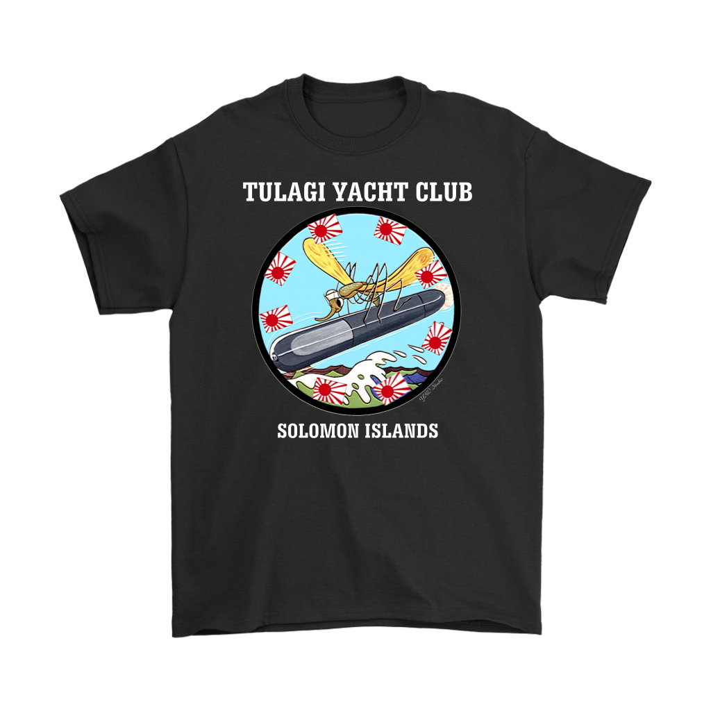 Tulagi Yacht Club T-Shirt White Letters
