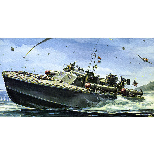 Revell Model Box Art JFK PT-109 Kennedy PT Boat Giclee Print 2 Sizes Available