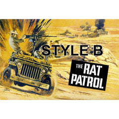1967 AURORA Rat Patrol Model Box Art 13x19 OR 9x13 inch Giclee Print
