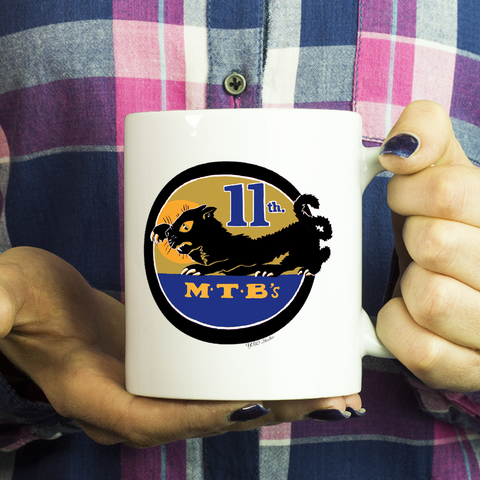PT Boat Squadron RON 11 Emblem Coffee Mug Version 2
