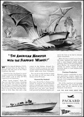 The American Monster With The Flapping Wings PT Boat Mug