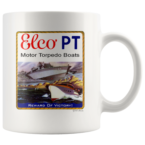 ELCO PT Boat Reward Of Victory! Mug
