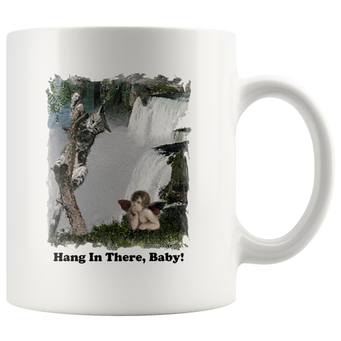 Inspirational Mug - Hang In There Baby