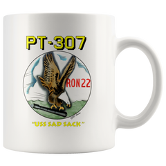 PT-307 USS SAD SACK RON 22 Coffee Mug
