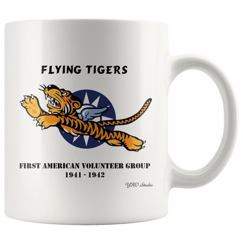 AVG Flying Tigers 11oz Coffee Mug