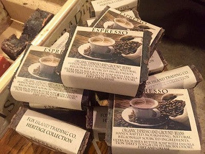 Espresso Caffeinated Soap
