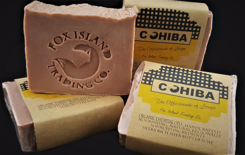 The Masculine Collection Handcrafted Shea and Cocoa Butter Soap