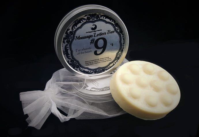 Number 9 Hard Lotion Bar with Tin
