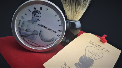Lathering Shave Soap w/ brush