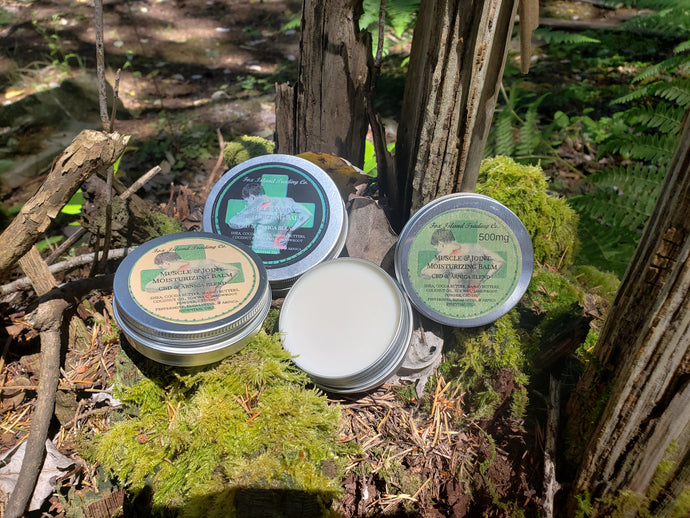 Organic Muscle and Joint Balm with CBD and Arnica