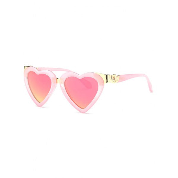 09f1c41c6de Cool Heart Shape Mirrored Sunglasses – priemzo