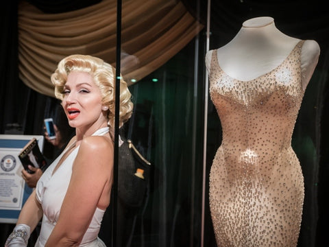 Marilyn Monroe Swarovski Crystal Dress