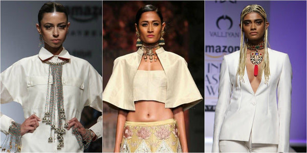 Chokers in Amazon India Fashion Week