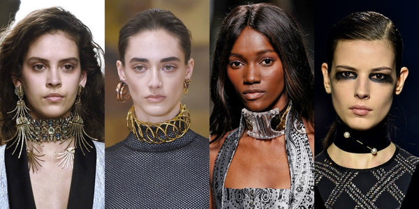 Chokers in NYFW