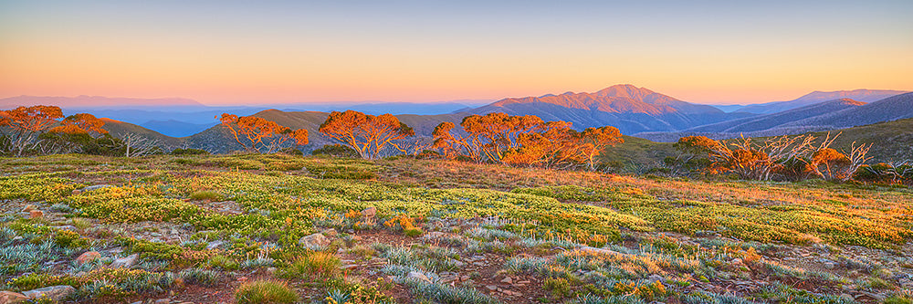 Daybreak - Sunrise over the Victorian Alps