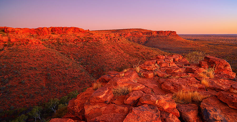 Outback Solitude - Kings Canyon, Northern Territory
