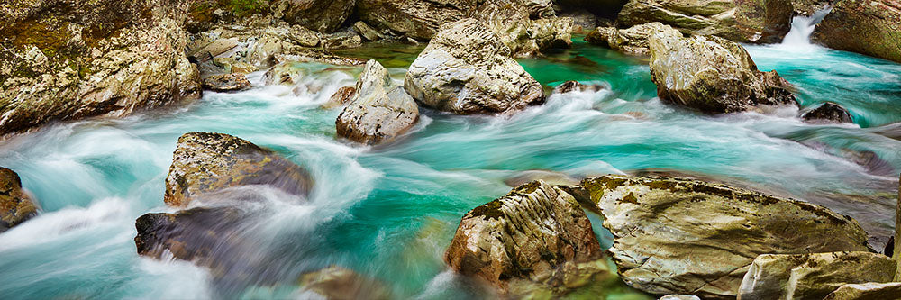 Alpine Waters - Routeburn River, New Zealand