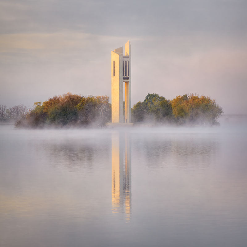Morning Fog - Canberra photo by Scott Leggo