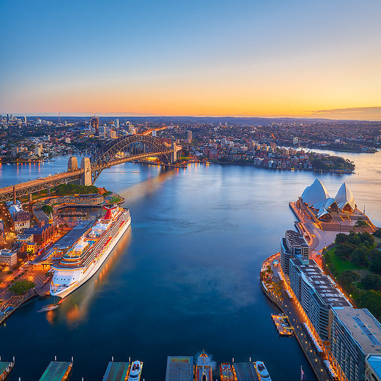Sydney Awakes - Sydney Harbour Sunrise