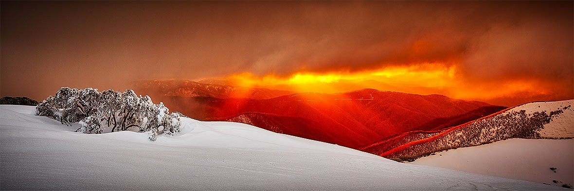 Alpine Sunset - Mount Hotham