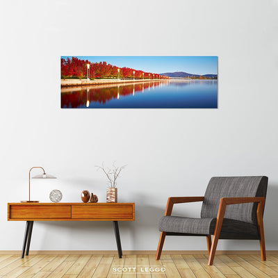 Autumn Sunrise - canvas wall art preview