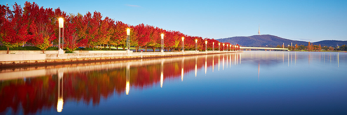 Autumn Sunrise - Lake Burley Griffin Canberra