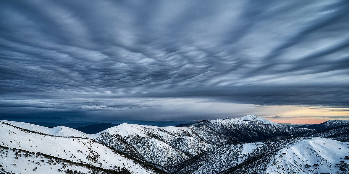 Before The Storm - Mount Feathertop Snow