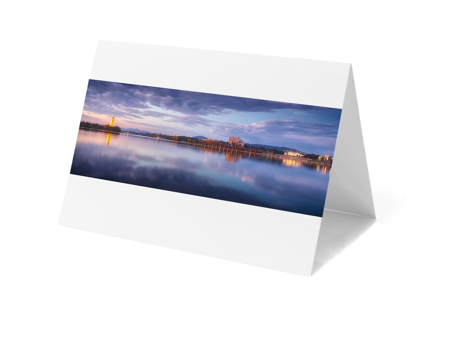 Canberra greeting card - Canberra Morning