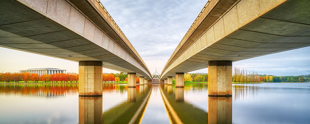 Convergent - Commonwealth Avenue Bridge Canberra
