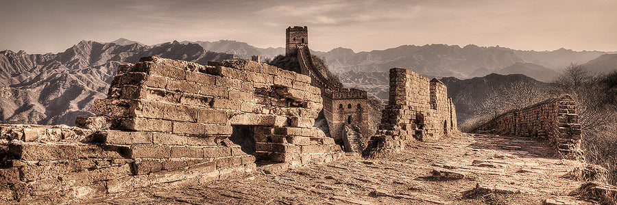 Crumbling Wall Great Wall of China