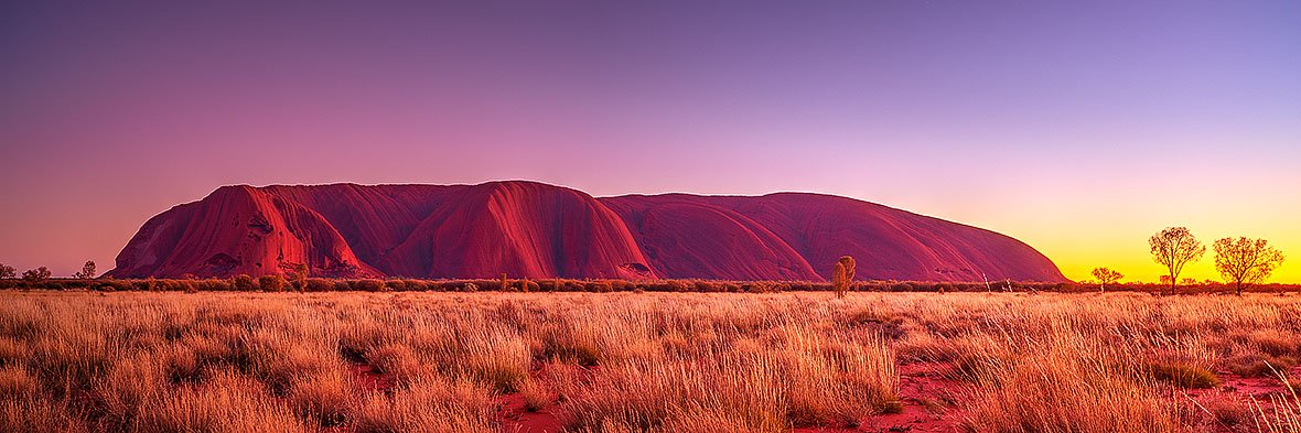 Desert Awakening - Sunrise at Uluru