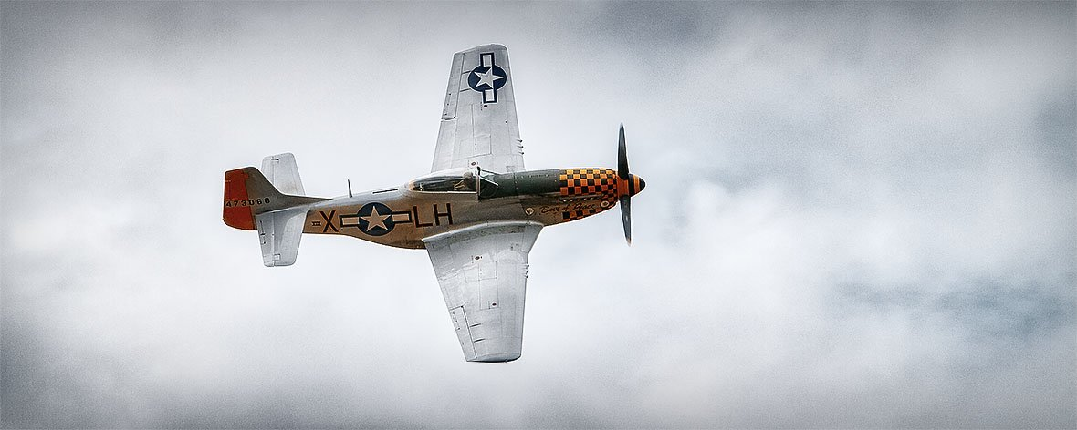 P-51 Mustang - Dove Of Peace - Aviation Wall Art