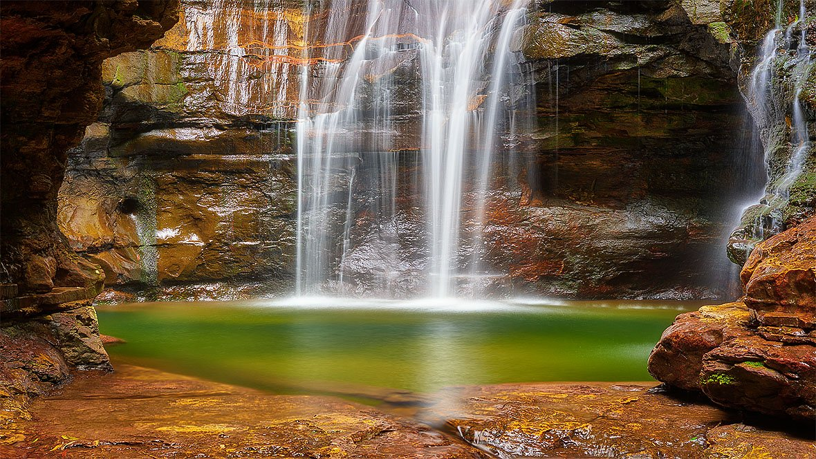 Empress Falls, Valley Of The Waters, Blue Mountains