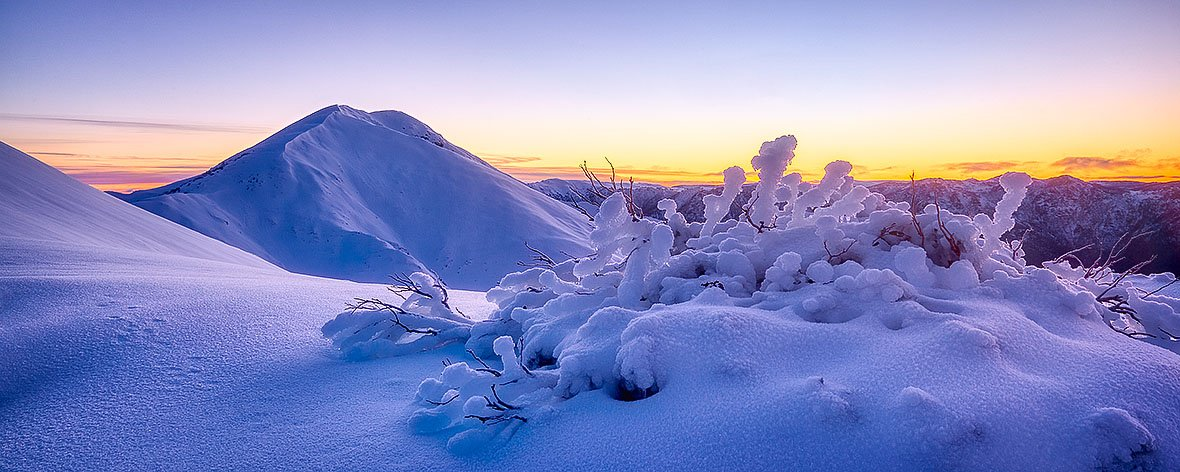 Feathertop Dawn - Sunrise at Mount Feathertop
