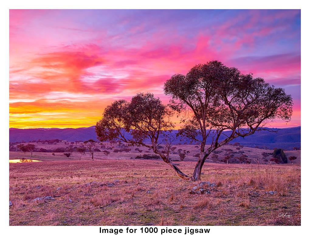Googong Rising - 1000 piece Australian made jigsaw puzzle