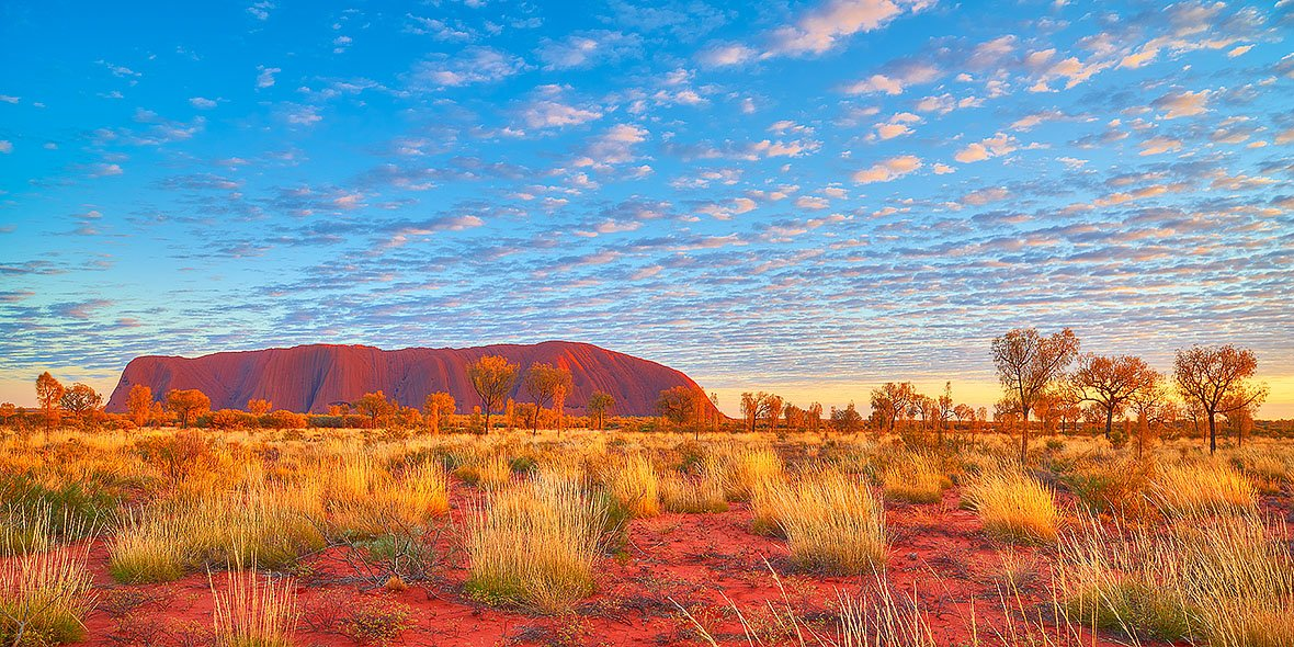 Great Southern Land - Sunrise at Uluru