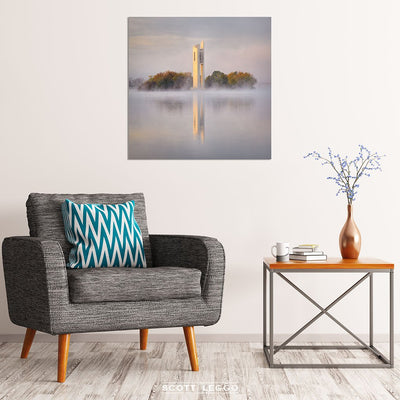 Morning Fog - canvas wall art Canberra