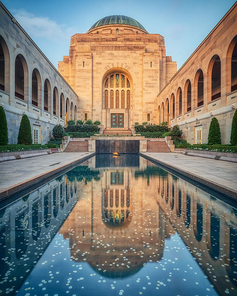 Pool Of Reflection - Australian War Memorial, Canberra
