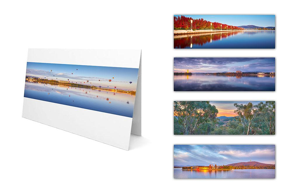 Greeting Cards - Canberra Panorama mixed pack
