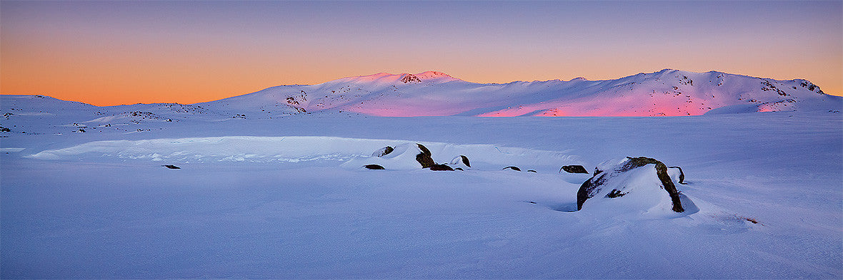 Snowy Sunrise, Kosciuszko Nation Park, New South Wales