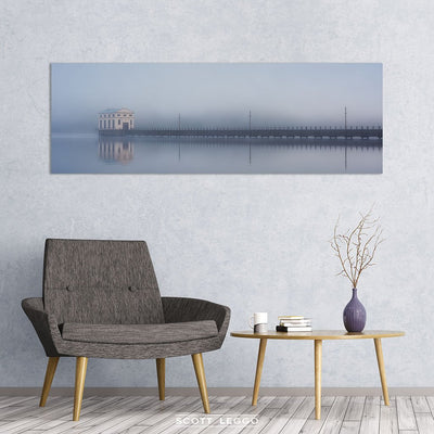 The Pumphouse - canvas wall art preview