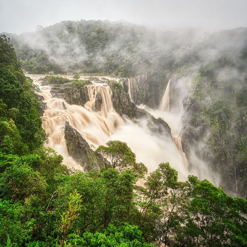Tropical Pour - Barron Falls, Queensland