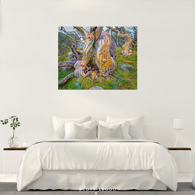 Twisted Beauty - canvas wall art bedroom preview